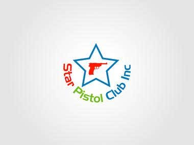Logo Design for Star Pistol Club Inc