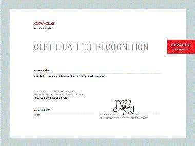 Oracle Autonomous Database Cloud 2019 Certified Specialist