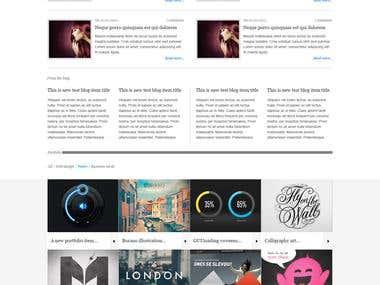 Survital Homepage Wordpress