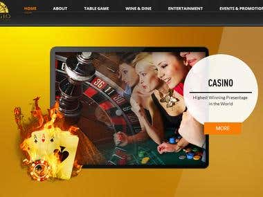 Web site for Casino Club
