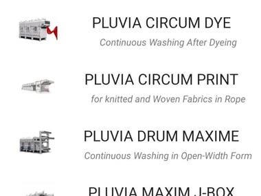 Tachayon Pluvia : Product Portfolio