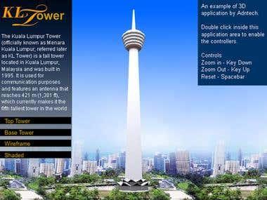 KL Tower flash viewer