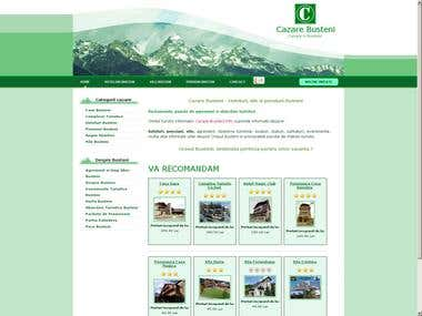 Tourism promotion website