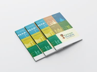 Brochure Design for Real Estate Sector