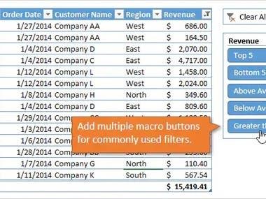 Excel Macro
