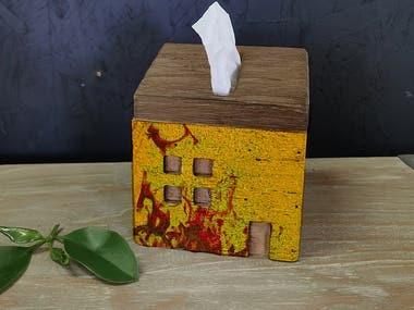 tissue box editing
