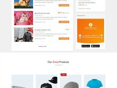 Ecommerce Website Demo