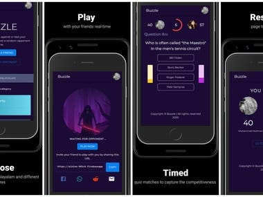 Real-Time Multiplayer Quiz App