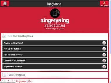Ringtones | Singmyring.com
