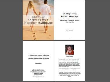 Ebook cover and layout