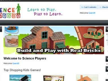 Opencart Ecommerce Website Design