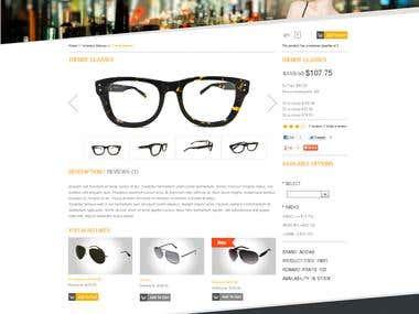Cs Cart Optical Store