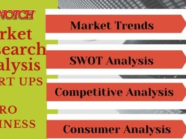 assist in online, market research and business research