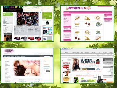 Oscommerce, E-Commerce, Prestashop, Magento