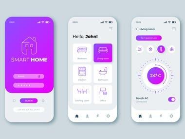 App UI Design & Development