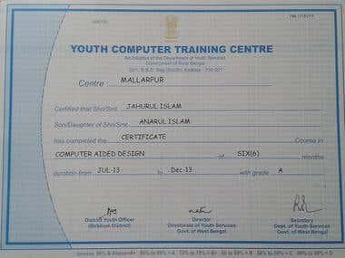 Auto Cad Certificate