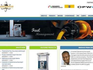 Universal Engineering Website