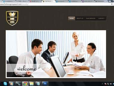 Group of company website