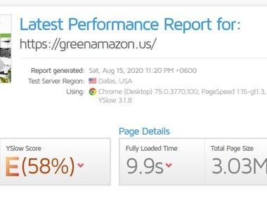 Website Optimization - Speed Up