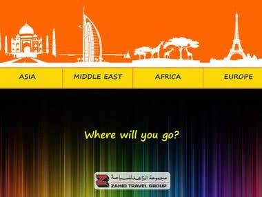 Brochure for Travel Agency in Saudi Arabia