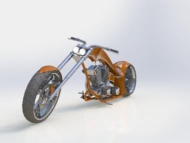 Modeling of American Chopper