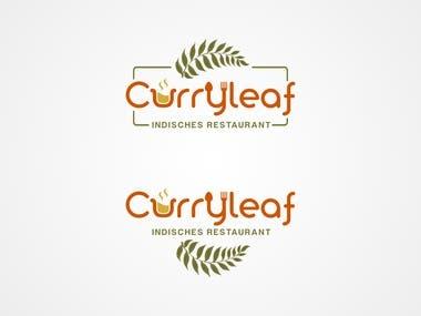 Curryleaf Indisches Restaurant Logo Design