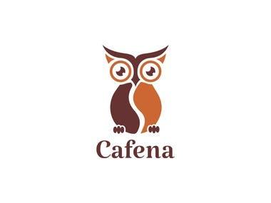 Cafena Logo Design