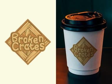 Broken Crates Logo Design