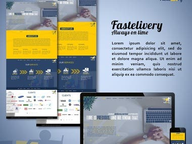Website Mockup UI/UX