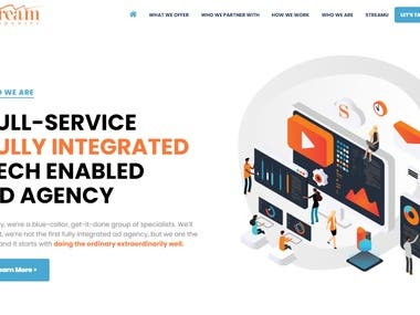 Advertising & Marketing Website