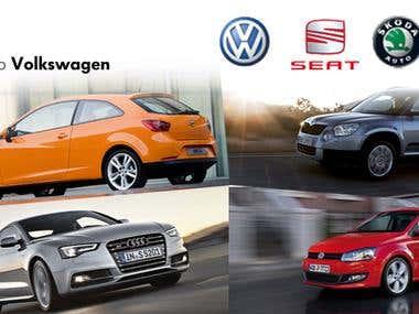 Banner Volkswagen