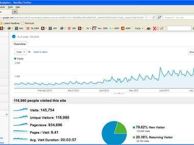 SEO Impact: Increasing Visitor Numbers