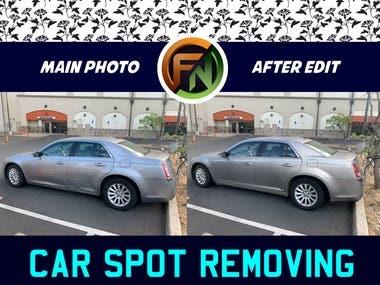 Car Spot removing