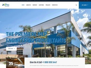 Website Development -- proengc.com