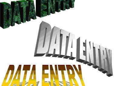 Data Entry With Fast Turnaround Time !