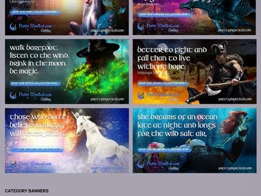 Pretty Mystical Website Elements