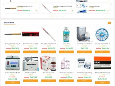 DentalShri - An e-commerce store