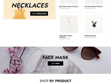 E commerce Fashion Store