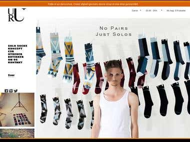 Online store for Socks