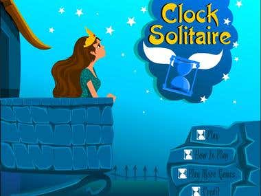 Card Game (clock Solitaire)