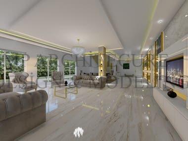 Classic-Modern Interior Design