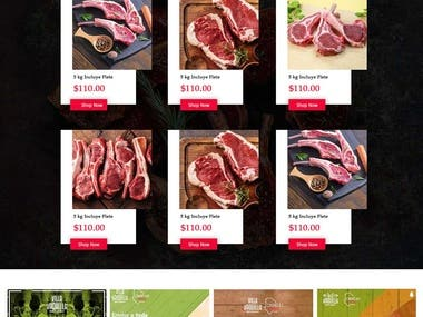 Meat Shopping Site