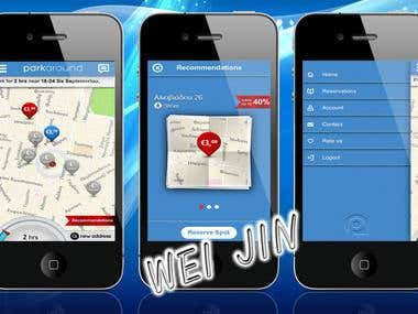 ParkAround - GPS App (iPhone)