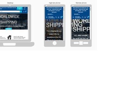 Shopify website Design & Development