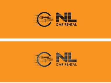 Logo for a car rental