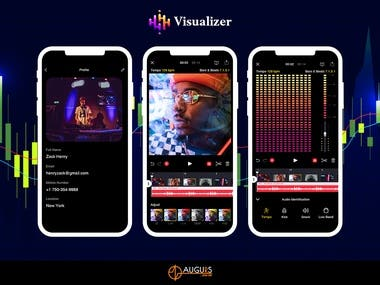 Audio/Video Visualizer App: SOUNDR