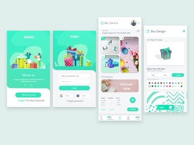 App Design for Packaging Gifts