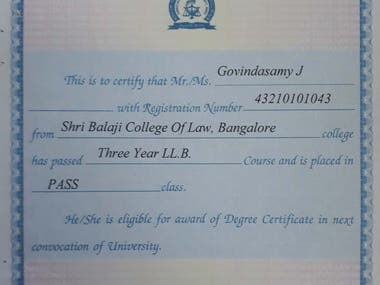 My law degree certificate _LLB