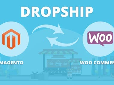 Magento to WooCommerce 2-way Dropship extension.