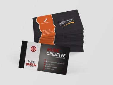 Double Business Card